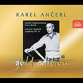 Ancerl Gold Edition 40 - Burghauser, Dobi&#225;s / Czech PO