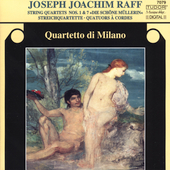 Raff: String Quartets no 1 & 7 / Quartetto di Milano