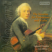 Mozart: Sonatas for Fortepiano and Violin / Kuijken, Devos