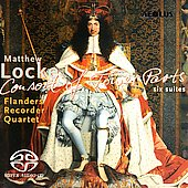 Locke: Consort of Fower Parts / Flanders Recorder Quartet
