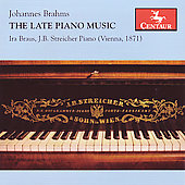 Brahms: The Late Piano Music / Braus
