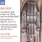 Reger: Organ Works Vol 9 / Josef Still