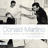Memorial Tribute Concert - Donald Martino / Wheeler, Means, Hodgkinson, et al