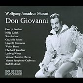 Mozart: Don Giovanni / George London, Ludwig Weber, Hilde Zadek, et al