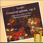 Handel: Concerti Grossi, Op. 3
