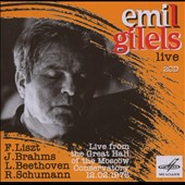 Emil Gilels: Live from the Great Hall of Moscow Conservatory, 12.02.1976