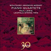 Mozart: Piano Quartets / Lewis, Leopold String Trio