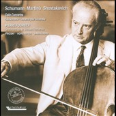 Schuman, Martinu, Shostakovich: Cello Concertos