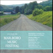 Live from the Marlboro Music Festival: Mozart, Beethoven, Schubert / Mitsuko Uchida, David Soyer