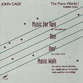 John Cage Edition Vol 13 - The Piano Works Vol 1 / Drury