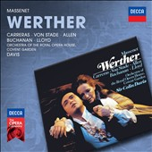 Massenet: Werther / José Carreras and Frederica von Stade