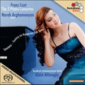 Franz Liszt: The 2 Piano Concertos; Totentanz; Fantasy on Hungarian Folk Tunes / Nareh Arghamanyan, piano