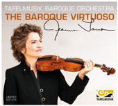 The Baroque Virtuoso - works for solo violin by Bach, Geminiani, Schmelzer, Biber, Vivaldi / Jeanne Lamon, violin