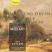 Mozart: Symphony K319, Serenade K320 