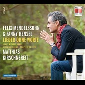 Felix Mendelssohn & Fanny Hensel: Songs without Words / Matthias Kirschnereit, piano