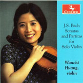 J.S. Bach: Sonatas and Partitas for Solo Violin / Wanchi Huang, violin