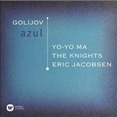 Golijov (b.1960): Azul; Stockhausen: Tierkreis; Dvorak: Rusalka: Soon if the Moon / Yo-Yo Ma, cello; Eric Jacobsen, The Knights