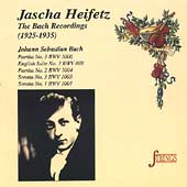 Strings - Jascha Heifetz - The Bach Recordings (1925-1935)