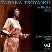 Tatiana Troyanos in Recital (1985) / James Levine