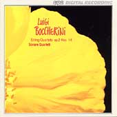 Boccherini: String Quartets Op 2 no 1-6 / Sonare Quartet