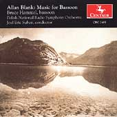 Blank: Music for Bassoon / Hammel, Suben, Polish National SO