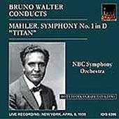 Mahler: Symphony no 1 / Bruno Walter, NBC Symphony Orchestra