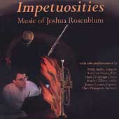 Joshua Rosenblum: Impetuosities, Variations for Piano Trio