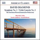 American Classics - Diamond: Symphony no 1, etc / Schwarz