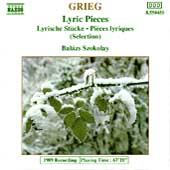 Grieg: Lyric Pieces / Bal&aacute;zs Szokolay