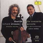 Dvorak, Strauss: Works for Cello / Mehta, Maisky, et al