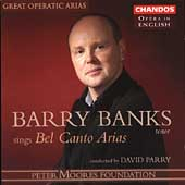 Opera in English - Barry Banks sings Bel Canto