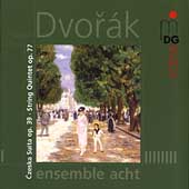 SCENE  Dvor&aacute;k: Czeska Suite, Quintet / Ensemble Acht