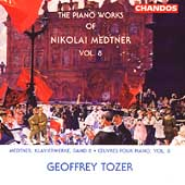 Medtner: Piano Works Vol 8 / Geoffrey Tozer