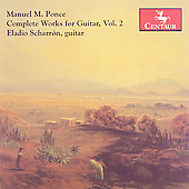 Ponce: Complete Works for Guitar Vol 2 / Eladio Scharron