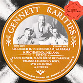 Various Artists: Gennett Rarities