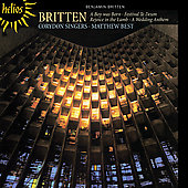 Britten: A Boy was Born, Wedding Anthem, etc / Best, Corydon
