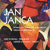 SCENE Janca: Music for Trombone & Organ Vol 2