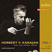 Edition von Karajan Vol 1 - Verdi: Requiem - Live 1949