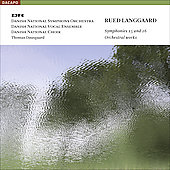 Langgaard: Symphonies no 15 & 16, etc / Dausgaard, Danish NSO, et al