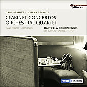 Stamitz: Clarinet Concerti, Orchestral Quartet, etc / Ferro, Bj&ouml;rlin, Deinzer, Engel, et al
