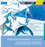 Stokowski conducts Blacher, Prokofiev, Milhaud, Egk, Wagner, Mussorgsky, Tchaikovsky