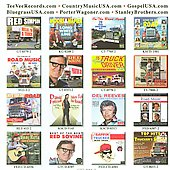 Various Artists: Lay Me Down A Truck Driving Man