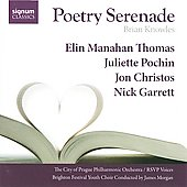 Brian Knowles: Poetry Serenade / James Morgan, R'SVP Voices, et al