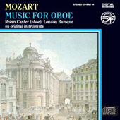 Mozart: Music for Oboe / Robin Canter