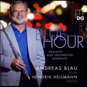 Blue Hour / works for flute & piano