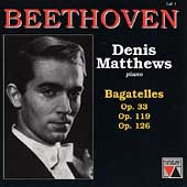 Beethoven: Vol 1 - Bagatelles / Denis Matthews