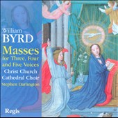 Byrd: Masses for Three, Four and Five Voices / Darlington