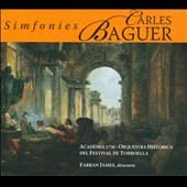 Carles Baguer: Symphonies / Farran James - Academia 1750