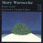 Mary Warnecke - Piano Recital - Schubert, Chopin, Liszt