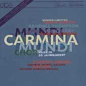 Carmina Mundi - Choir Music of the 20th Century / Nickoll